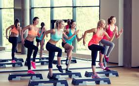 Image result for very crowded group fitness class