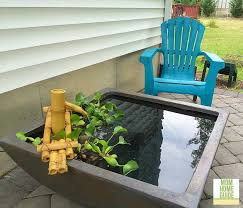diy patio pond: choosing my patio pond was difficult only because aquascape has so many lovely patio pond options in many shapes colors and sizes