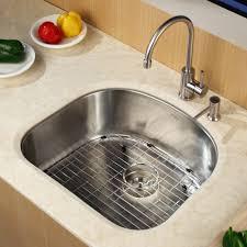 country kitchen column spout: kraus single handle single hole kitchen faucet with lever handle uampamp soap dispenser