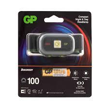 <b>Фонарь</b> налобный <b>GP Batteries</b> LED CH33ME (1002327620 ...