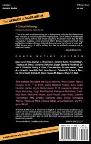 com the gender of modernism a critical anthology com the gender of modernism a critical anthology 9780253351227 bonnie kime scott books