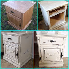 my diy shabby chic nightstand furniture makeover painted wood furniture distressed paint french style bedroom wow bedroom furniture diy
