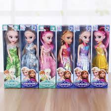 Toy 2pcs Movie <b>Frozen Princess</b> Figures Kids Children Baby Girl ...