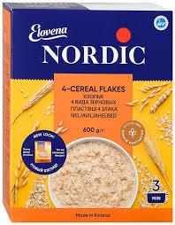 Каша <b>Нордик 4-х</b> злаковые <b>хлопья</b> 600 гр (<b>Nordic</b>)