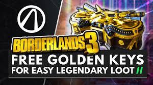 BORDERLANDS 3   FREE GOLDEN KEYS FOR EASY ...