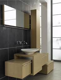 nice bathroom furniture grey ceramics wall white sink rectangle mirror bathroom furniture design
