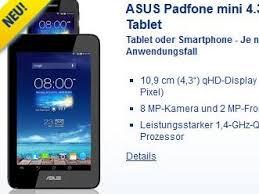 Dual-SIM-Smartphone und Tablet in Einem: Asus Padfone Mini 4.3 ...