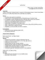sample bartender resume no experience   easy resume samples     sample bartender resume no experience