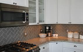 metal kitchen middot backsplash subway gray  lush x taupe glass subway tile herringbone pattern egruninger ed