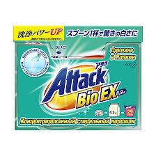 <b>Attack</b> Bio Ex Концентрированный стиральный <b>порошок для стирки</b>