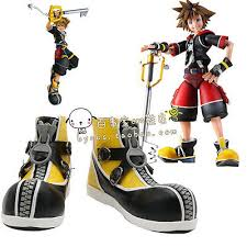 kingdom hearts sora yellow