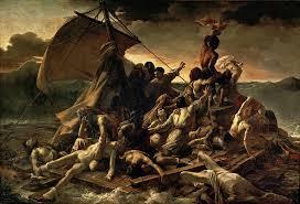 <b>Raft</b> of the Medusa by <b>Theodore Gericault</b>