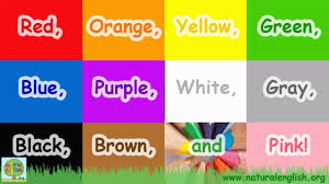 The Colors Song ~ Learn the Colors / Colours ~ LEARN ENGLISH ...