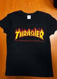 <b>Футболки Thrasher</b>, женские 2020 - купить недорого вещи в ...