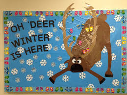 december winter bulletin board oh deer winter is here bulletin boards