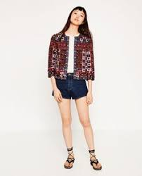 Image 1 of EMBROIDERED JACKET from Zara | жакет ...