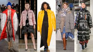 NYFW New York Fashion Week Trend <b>Puffer Coats</b> - Fashionista