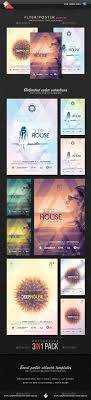 best ideas about event flyers flyer design deep house session event flyer templates bundle