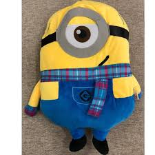 *Ready stock* Original <b>Despicable</b> Me Minion Stuart scarf 50cm ...