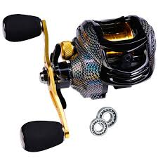 Baitcasting Fishing Reel <b>Water Drop Magnetic Brake</b> System ...