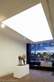 barrisol light box by barrisol welch for the john martin gallery soho london stretch fabric barrisol lighting