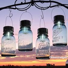 ball mason jar solar lights outdoor garden decor quart aqua zoom ball mason jar solar lights