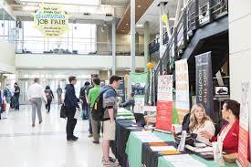 job fair connects students summer jobs signpost 3 30 summer job fair 5 jpg