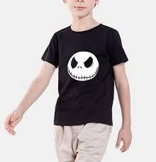 New fashion 2018 <b>summer kids T Shirt</b> Nightmare Before Christmas ...