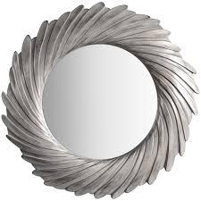 Antique Silver Ornate Framed Mini <b>Wall Mirror</b> Square French ...