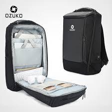 <b>OZUKO</b> Men's <b>17 Inch</b> Laptop Backpack Large Capacity Waterproof ...