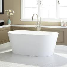 leith acrylic freestanding tub  bathroom