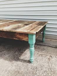 original farmhouse reclaimed wood coffee table