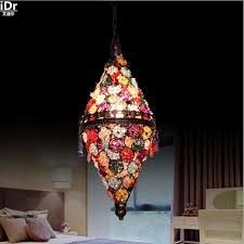 high end european style bar cafe restaurant light bohemian clothing creative mood lamp pendant bohemian lighting