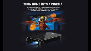 <b>Vivicine P09 Smart</b> 4K Mini Projector 2020 - YouTube