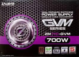 <b>Zalman ZM700</b>-GVM 700W Power Supply – JonnyGURU.com