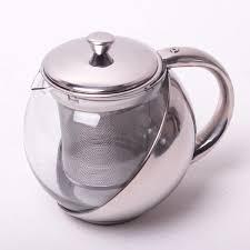 Чайник заварочный KAMILLE с <b>металлическим дном</b> 500мл и ...