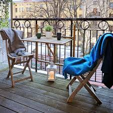 swedish balcony finishing and arranging ideas patio furniture for small patios
