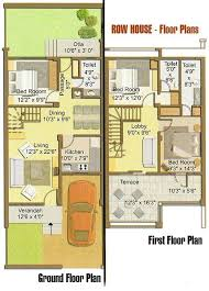 Charleston Row House  HWBDO     Cape Cod House Plan from    Charleston Row House  HWBDO     Cape Cod House Plan from