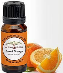 Buy All Naturals Orange <b>Essential Oil</b> (<b>Sweet</b>) 15ml 100% <b>Pure</b> for ...