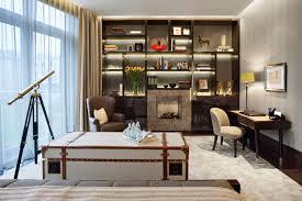 shh chelsea apartment home office art deco office