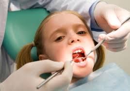 childrens dental examination