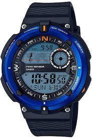 Электронные кварцевые <b>мужские</b> наручные <b>часы Casio SGW</b> ...