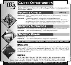 career opportunities sukkur institute of business administration career opportunities sukkur institute of business administration