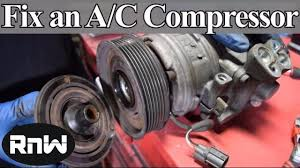 How to Diagnose and Replace an A/C <b>Compressor</b> Coil, Clutch and ...