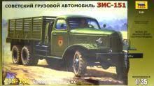 """<b>Сборная модель</b> """"Советский <b>грузовой</b> автомобиль ЗиС-151"""" (3541)"""