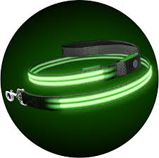 squeaker poochlight range squeaker monster mash poochlight light up flashing dog leash