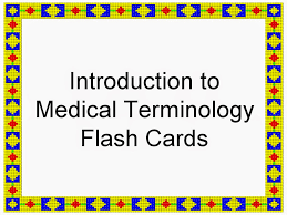 how to build your dream toolbox of medical terminology activities flash cards on introduction to medical terminology