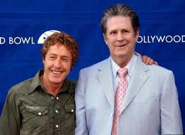 Roger Daltrey and Brian Wilson, at the Hollywood Bowl in 2003 - RogerBrian