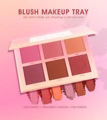 <b>IMAGIC</b> combination face makeup <b>6 colors</b> lasting waterproof <b>blush</b> ...