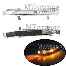 <b>MZORANGE Rearview Mirror Light</b> LED for Skoda Octavia SUPERB ...